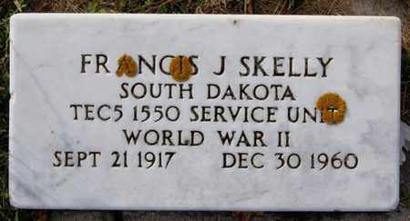 SKELLY, FRANCIS J (WWII) - McCook County, South Dakota | FRANCIS J (WWII) SKELLY - South Dakota Gravestone Photos