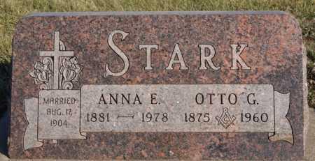 STARK, ANNA E - McCook County, South Dakota | ANNA E STARK - South Dakota Gravestone Photos