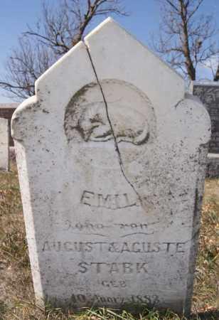 STARK, EMIL - McCook County, South Dakota | EMIL STARK - South Dakota Gravestone Photos
