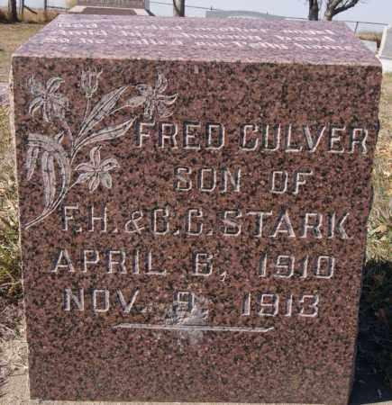 STARK, FRED CULVER - McCook County, South Dakota | FRED CULVER STARK - South Dakota Gravestone Photos