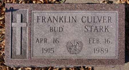 STARK, FRANKLIN CULVER - McCook County, South Dakota | FRANKLIN CULVER STARK - South Dakota Gravestone Photos