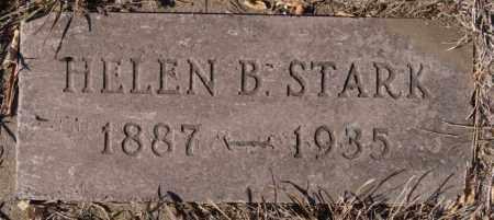 STARK, HELEN B - McCook County, South Dakota | HELEN B STARK - South Dakota Gravestone Photos