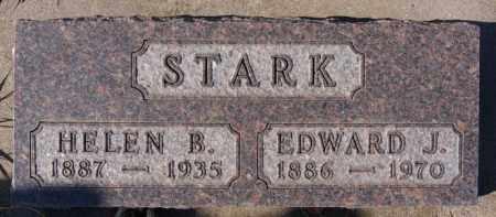 STARK, EDWARD J - McCook County, South Dakota   EDWARD J STARK - South Dakota Gravestone Photos