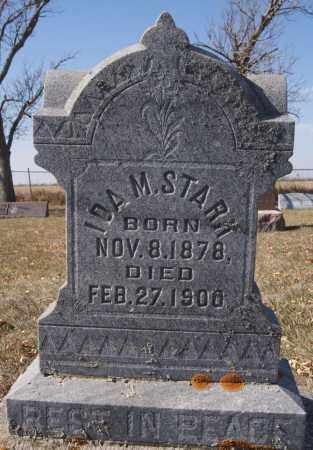 STARK, IDA M - McCook County, South Dakota   IDA M STARK - South Dakota Gravestone Photos
