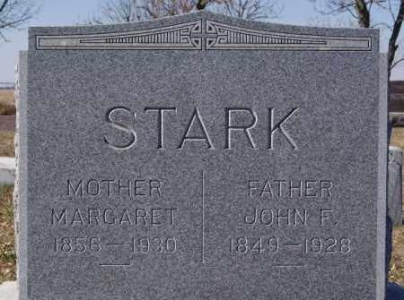 STARK, JOHN F - McCook County, South Dakota | JOHN F STARK - South Dakota Gravestone Photos