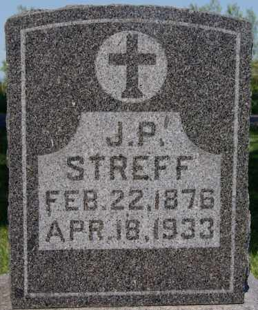 STREFF, J P - McCook County, South Dakota | J P STREFF - South Dakota Gravestone Photos