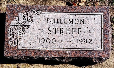 STREFF, PHILEMON - McCook County, South Dakota | PHILEMON STREFF - South Dakota Gravestone Photos