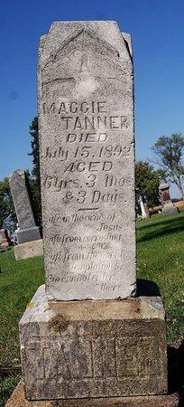 TANNER, MAGGIE - McCook County, South Dakota | MAGGIE TANNER - South Dakota Gravestone Photos