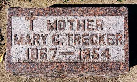 TRECKER, MARY C - McCook County, South Dakota | MARY C TRECKER - South Dakota Gravestone Photos