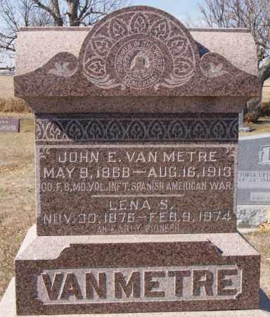 VAN METRE, LENA S - McCook County, South Dakota | LENA S VAN METRE - South Dakota Gravestone Photos