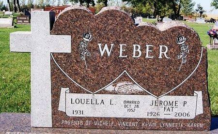 WEBER, LOUELLA L - McCook County, South Dakota | LOUELLA L WEBER - South Dakota Gravestone Photos