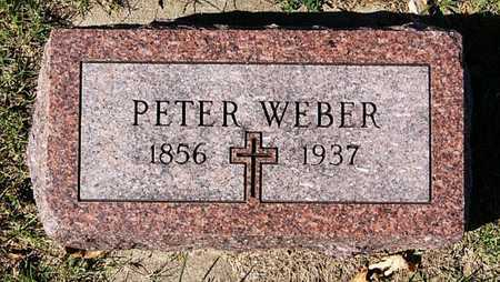 WEBER, PETER - McCook County, South Dakota | PETER WEBER - South Dakota Gravestone Photos