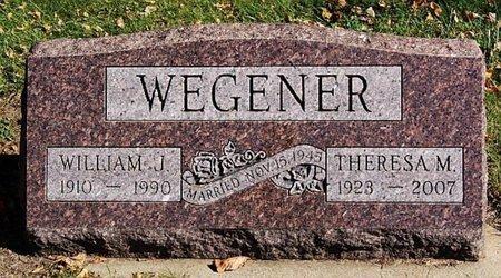 WEGENER, THERESA M - McCook County, South Dakota | THERESA M WEGENER - South Dakota Gravestone Photos