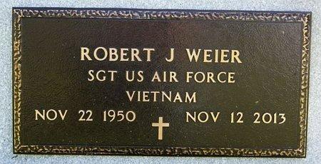 WEIER, ROBERT J (VIETNAM) - McCook County, South Dakota   ROBERT J (VIETNAM) WEIER - South Dakota Gravestone Photos