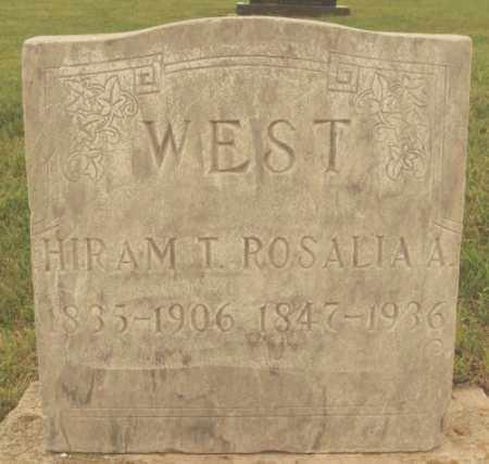 WEST, HIRAM T - McCook County, South Dakota | HIRAM T WEST - South Dakota Gravestone Photos