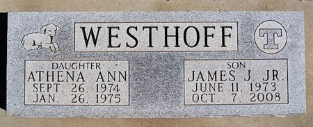 WESTHOFF, ATHENA ANN - McCook County, South Dakota | ATHENA ANN WESTHOFF - South Dakota Gravestone Photos