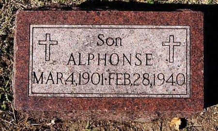 WESTHOFF, ALPHONSE - McCook County, South Dakota   ALPHONSE WESTHOFF - South Dakota Gravestone Photos