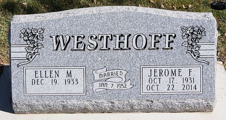WESTHOFF, JEROME F - McCook County, South Dakota | JEROME F WESTHOFF - South Dakota Gravestone Photos