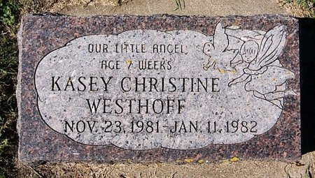 WESTHOFF, KASEY CHRISTINE - McCook County, South Dakota | KASEY CHRISTINE WESTHOFF - South Dakota Gravestone Photos
