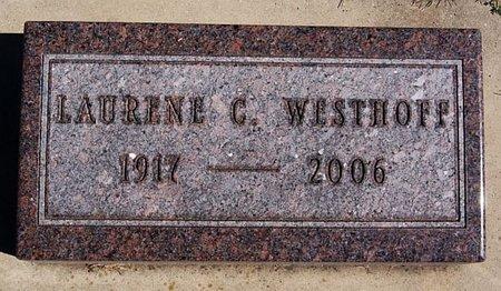 WESTHOFF, LAURENE C - McCook County, South Dakota | LAURENE C WESTHOFF - South Dakota Gravestone Photos