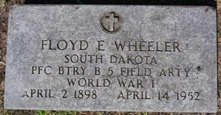 WHEELER, FLOYD E (WWI) - McCook County, South Dakota | FLOYD E (WWI) WHEELER - South Dakota Gravestone Photos