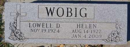 WOBIG, HELEN - McCook County, South Dakota   HELEN WOBIG - South Dakota Gravestone Photos