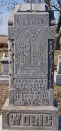 WOBIG, LOUISE - McCook County, South Dakota | LOUISE WOBIG - South Dakota Gravestone Photos