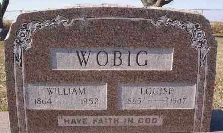WOBIG, WILLIAM - McCook County, South Dakota | WILLIAM WOBIG - South Dakota Gravestone Photos