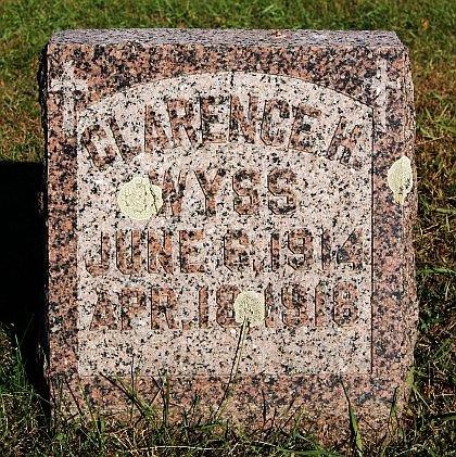 WYSS, CLARENCE H - McCook County, South Dakota | CLARENCE H WYSS - South Dakota Gravestone Photos