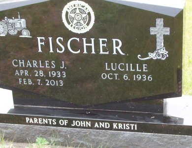 FISCHER, LUCILLE (LUCY) - McPherson County, South Dakota | LUCILLE (LUCY) FISCHER - South Dakota Gravestone Photos