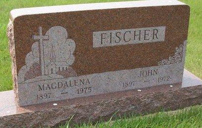 HOFFMAN MAGDALENA, FISCHER - McPherson County, South Dakota | FISCHER HOFFMAN MAGDALENA - South Dakota Gravestone Photos