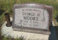 MOORE, GEORGE - Meade County, South Dakota   GEORGE MOORE - South Dakota Gravestone Photos