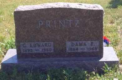 PRINTZ, C EDWARD - Meade County, South Dakota | C EDWARD PRINTZ - South Dakota Gravestone Photos