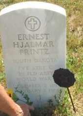 PRINTZ, ERNEST HJALMAR - Meade County, South Dakota   ERNEST HJALMAR PRINTZ - South Dakota Gravestone Photos