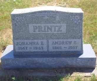 PRINTZ, JOHANNA E - Meade County, South Dakota | JOHANNA E PRINTZ - South Dakota Gravestone Photos