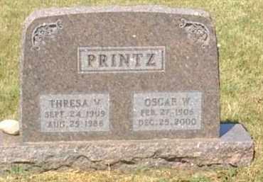 PRINTZ, OSCAR W. - Meade County, South Dakota | OSCAR W. PRINTZ - South Dakota Gravestone Photos