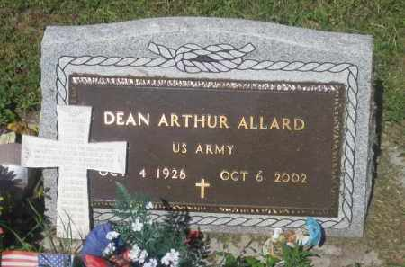 ALLARD, DEAN  ARTHUR - Mellette County, South Dakota | DEAN  ARTHUR ALLARD - South Dakota Gravestone Photos