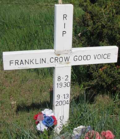 GOOD VOICE, FRANKLIN - Mellette County, South Dakota | FRANKLIN GOOD VOICE - South Dakota Gravestone Photos