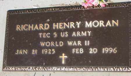 MORAN, RICHARD HENRY - Mellette County, South Dakota | RICHARD HENRY MORAN - South Dakota Gravestone Photos