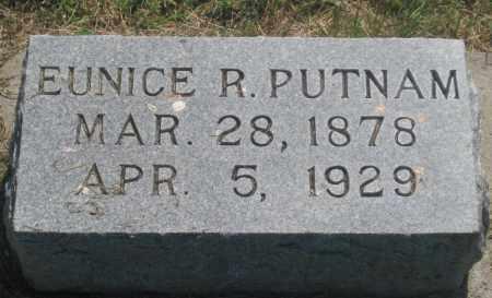 PUTNAM, EUNICE  R. - Mellette County, South Dakota   EUNICE  R. PUTNAM - South Dakota Gravestone Photos