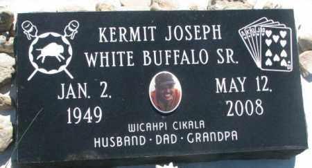 WHITE BUFFALO, KERMIT JOSEPH SR. - Mellette County, South Dakota | KERMIT JOSEPH SR. WHITE BUFFALO - South Dakota Gravestone Photos
