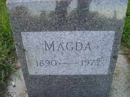 AALAND, MAGDA - Miner County, South Dakota   MAGDA AALAND - South Dakota Gravestone Photos