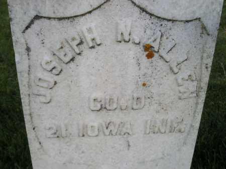 ALLEN, JOSEPH N. - Miner County, South Dakota   JOSEPH N. ALLEN - South Dakota Gravestone Photos