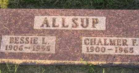 ALLSUP, CHALMER F. - Miner County, South Dakota | CHALMER F. ALLSUP - South Dakota Gravestone Photos