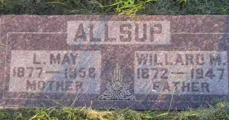 ALLSUP, L. MAY - Miner County, South Dakota | L. MAY ALLSUP - South Dakota Gravestone Photos