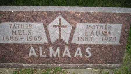 ALMAAS, LAURA - Miner County, South Dakota | LAURA ALMAAS - South Dakota Gravestone Photos