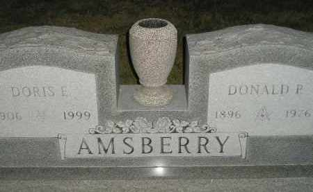 AMSBERRY, DONALD P. - Miner County, South Dakota | DONALD P. AMSBERRY - South Dakota Gravestone Photos