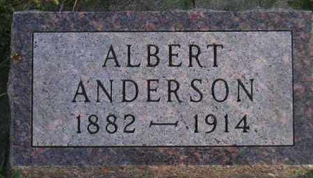 ANDERSON, ALBERT - Miner County, South Dakota | ALBERT ANDERSON - South Dakota Gravestone Photos