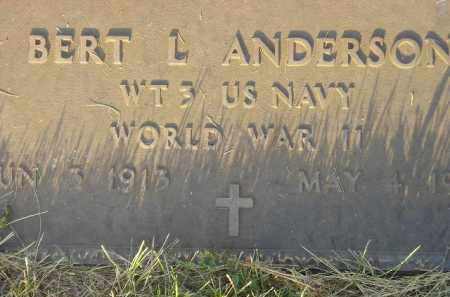 ANDERSON, BERT L. (WW II) - Miner County, South Dakota | BERT L. (WW II) ANDERSON - South Dakota Gravestone Photos