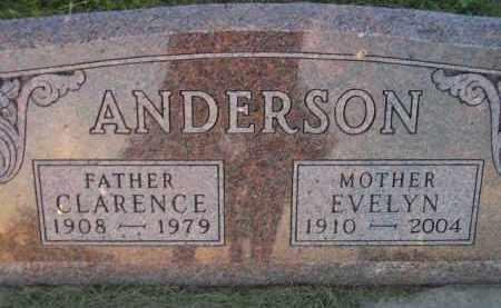 ANDERSON, EVELYN - Miner County, South Dakota | EVELYN ANDERSON - South Dakota Gravestone Photos